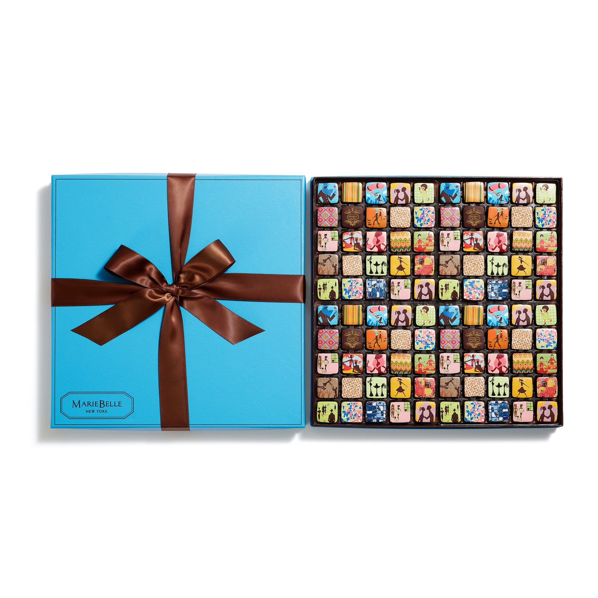 100pc Cien Ganache Blue Box