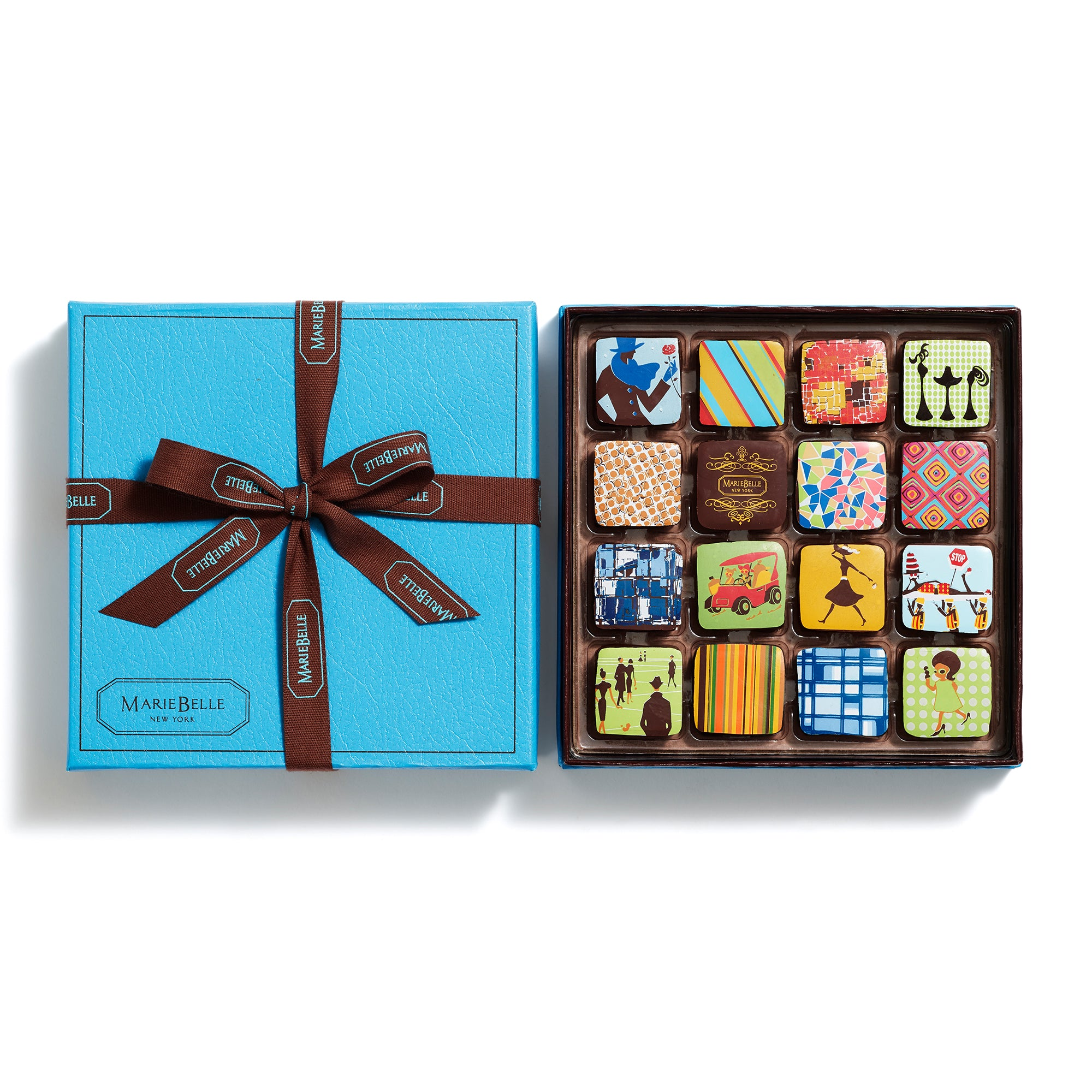 16pc Ganache Blue Box