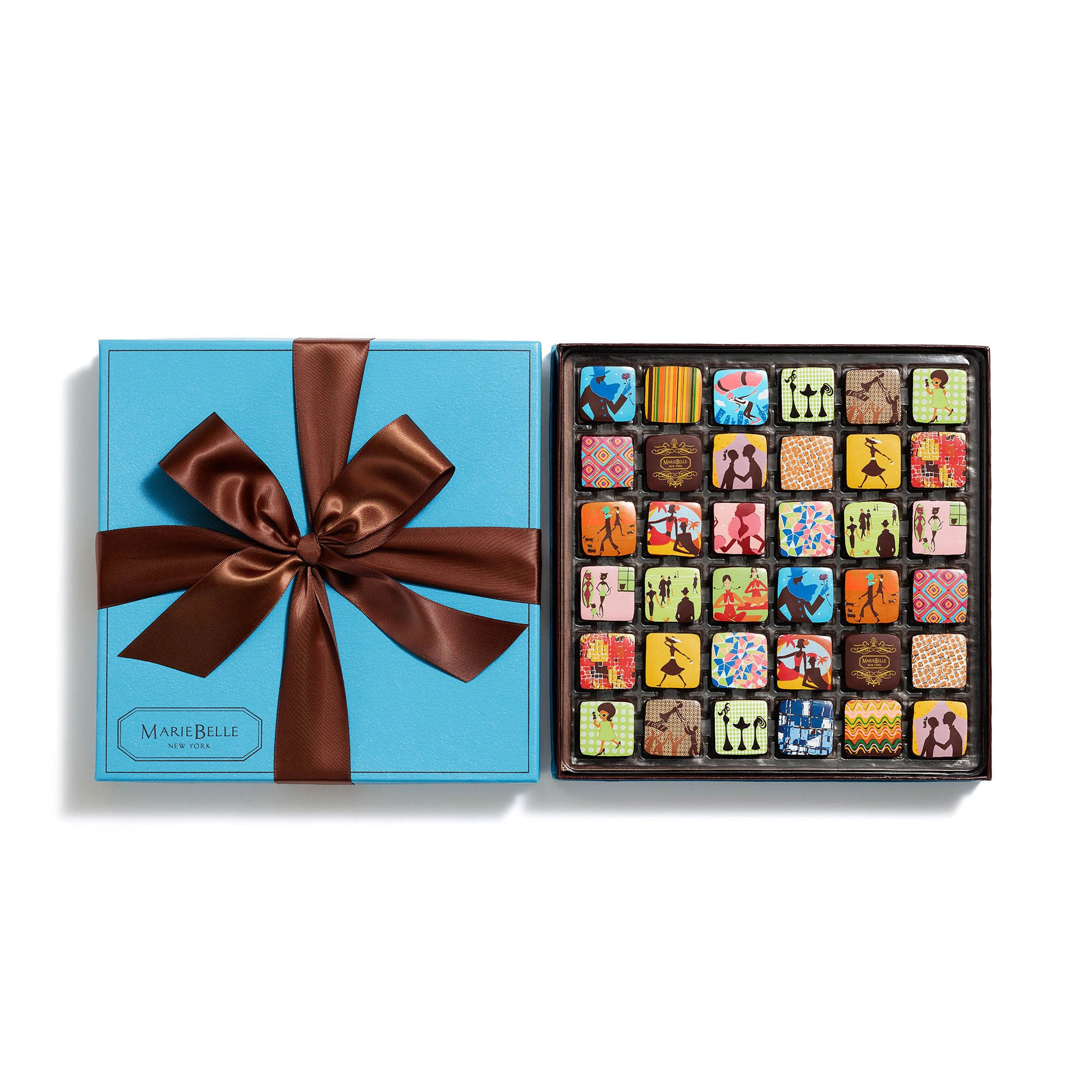 36pc Ganache Blue Box