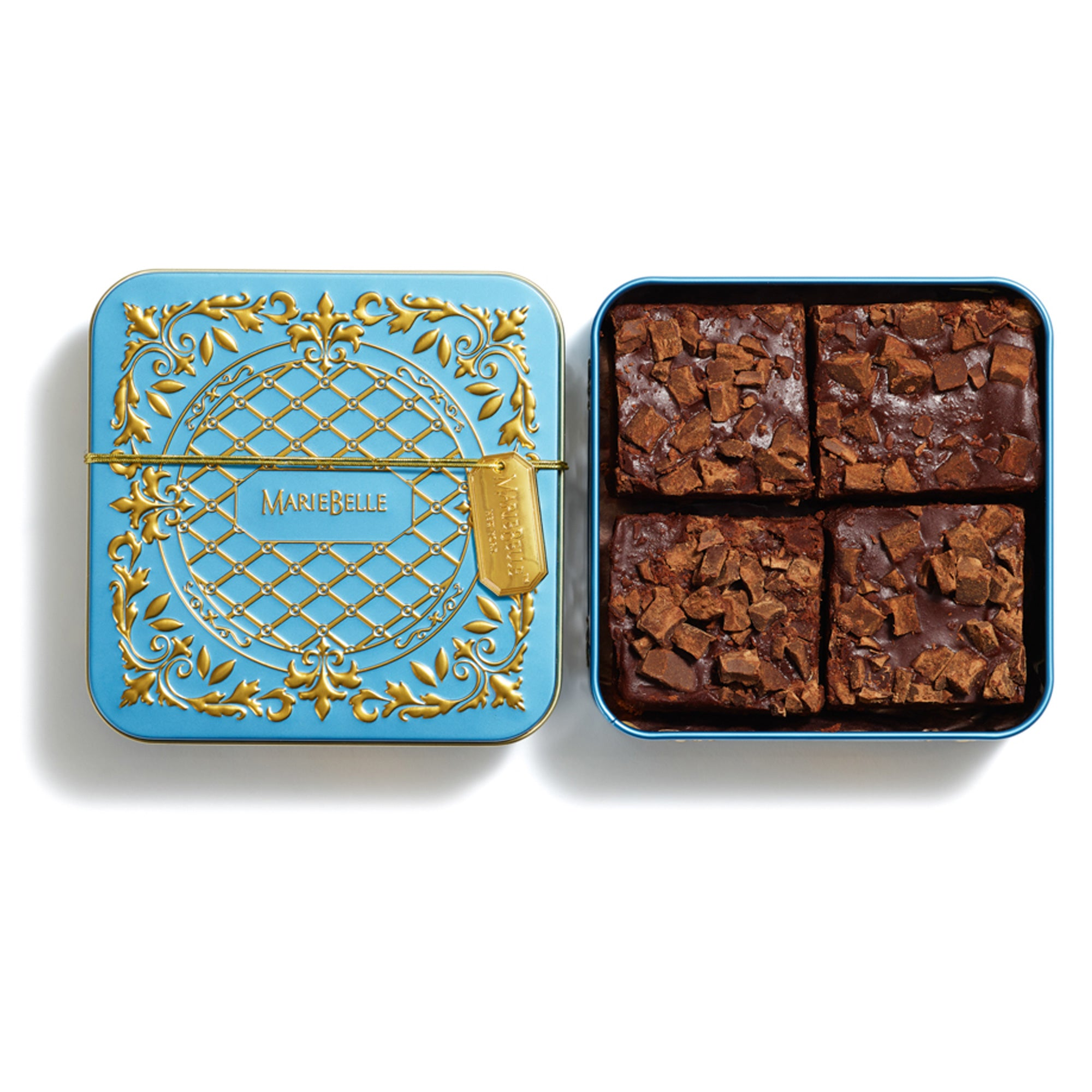 4pc Brownie Tin