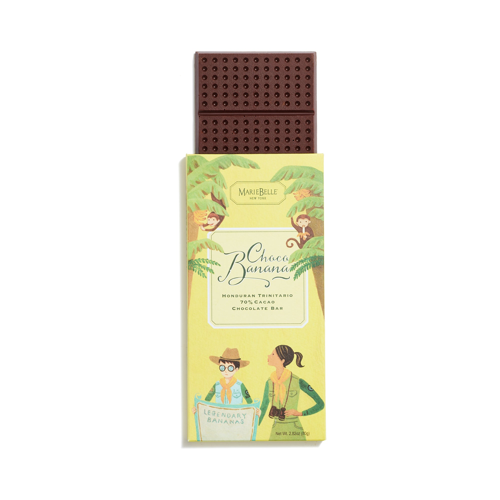80g MarieBelle Banana Bar
