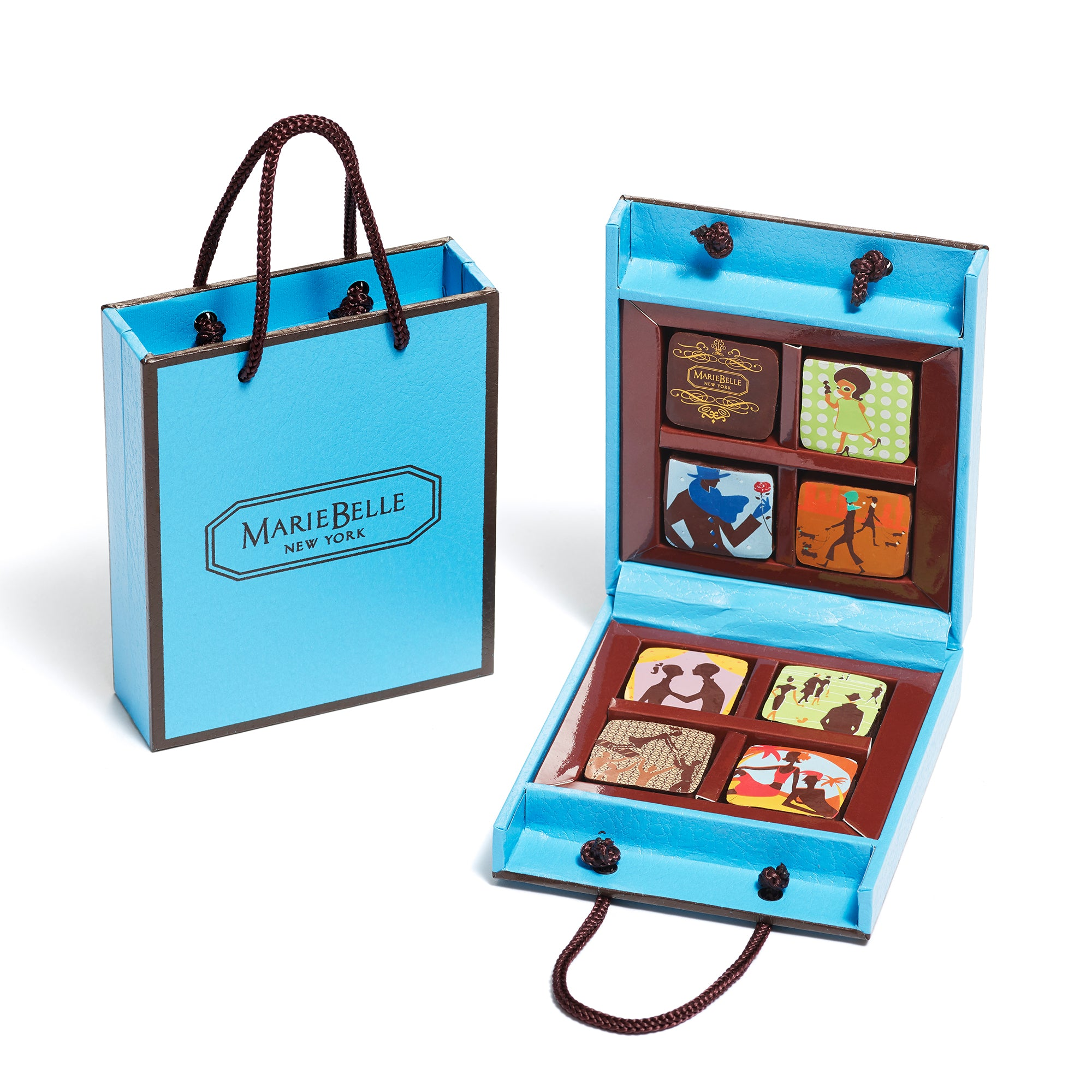 8 Piece Tote Blue Box