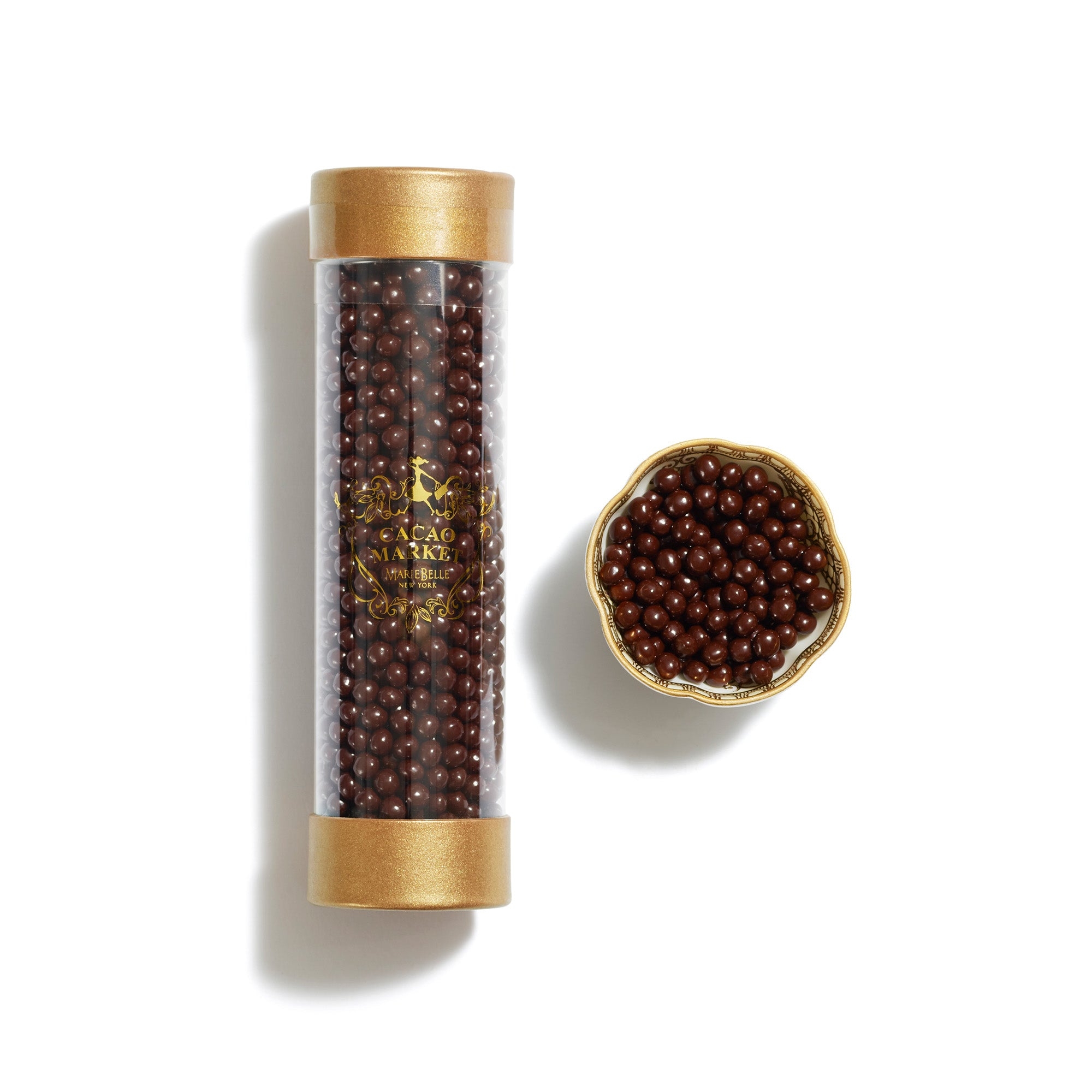 Cylinder Dark Chocolate Pearls