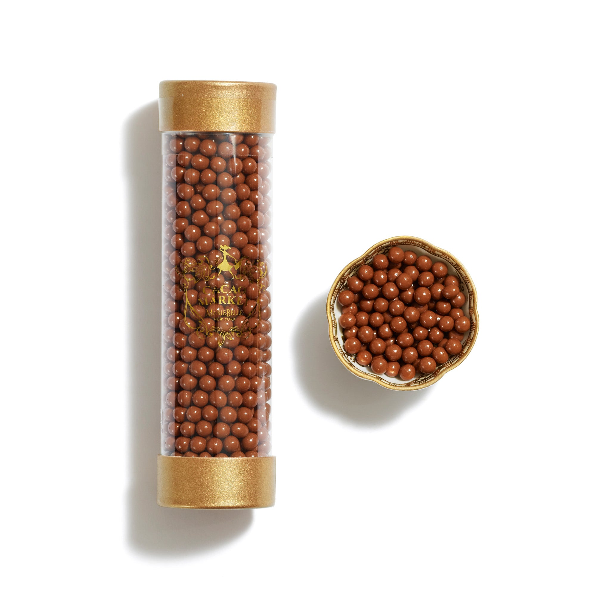 Cylinder Milk Chocolate Pearls