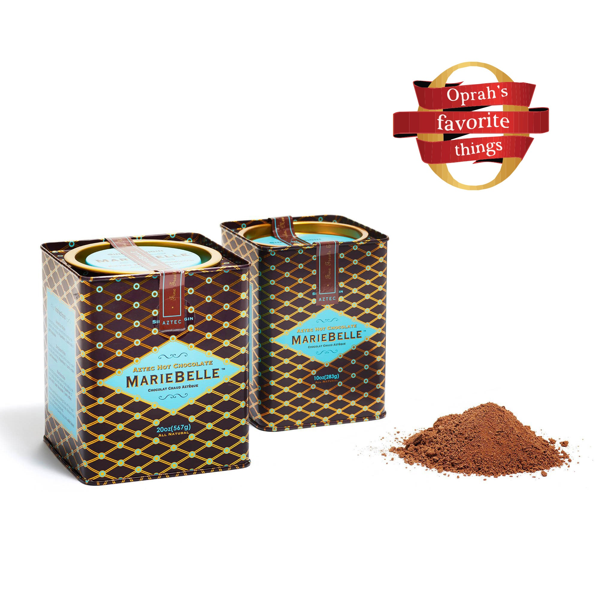 Tin Aztec Dark Hot Chocolate 10oz
