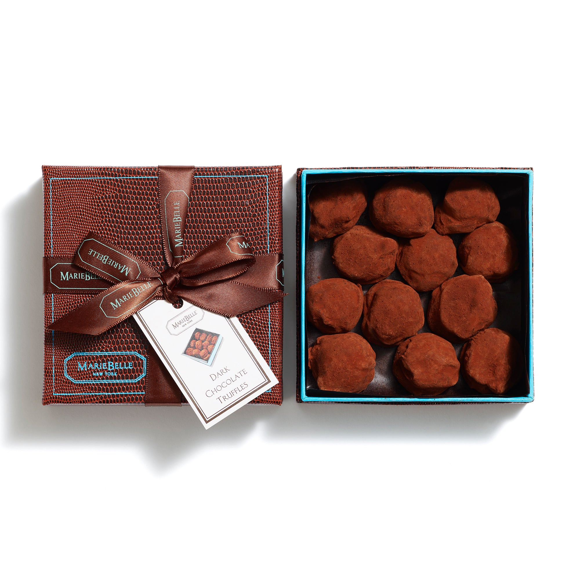 Truffle Dark Chocolate 12pc Box