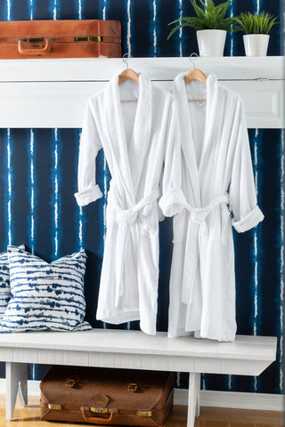 Hotel Robe Milk Paint by Fusion