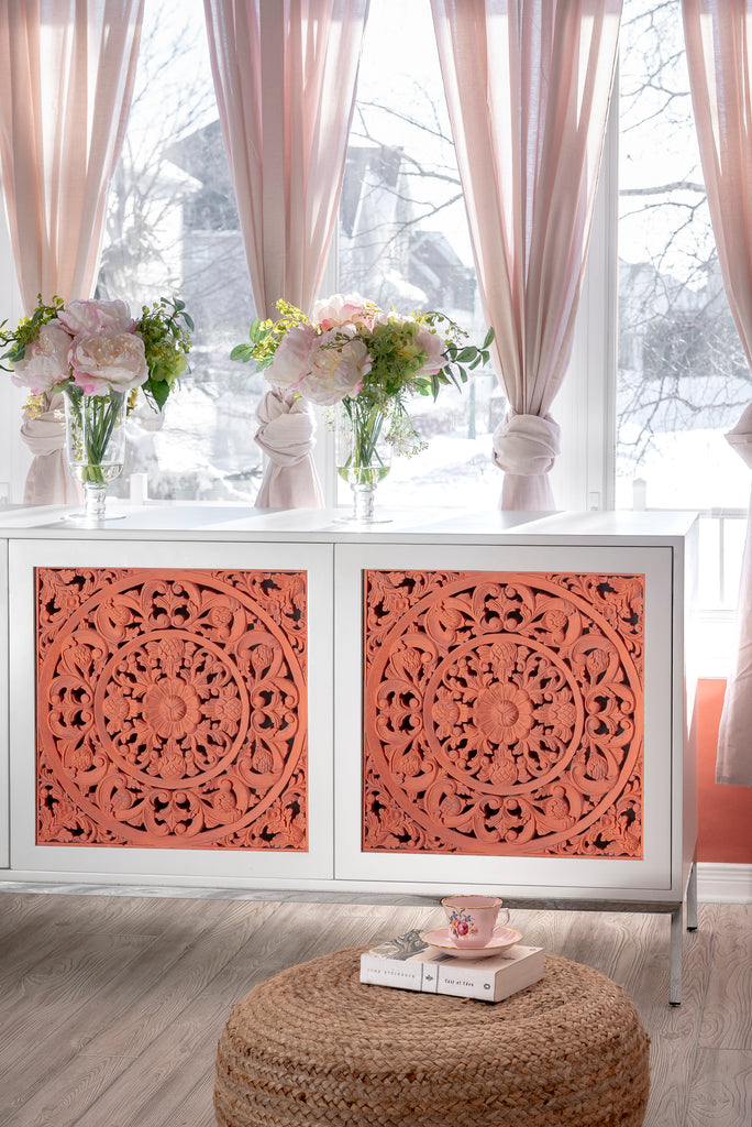 Carved Sideboard in Casa Rosa