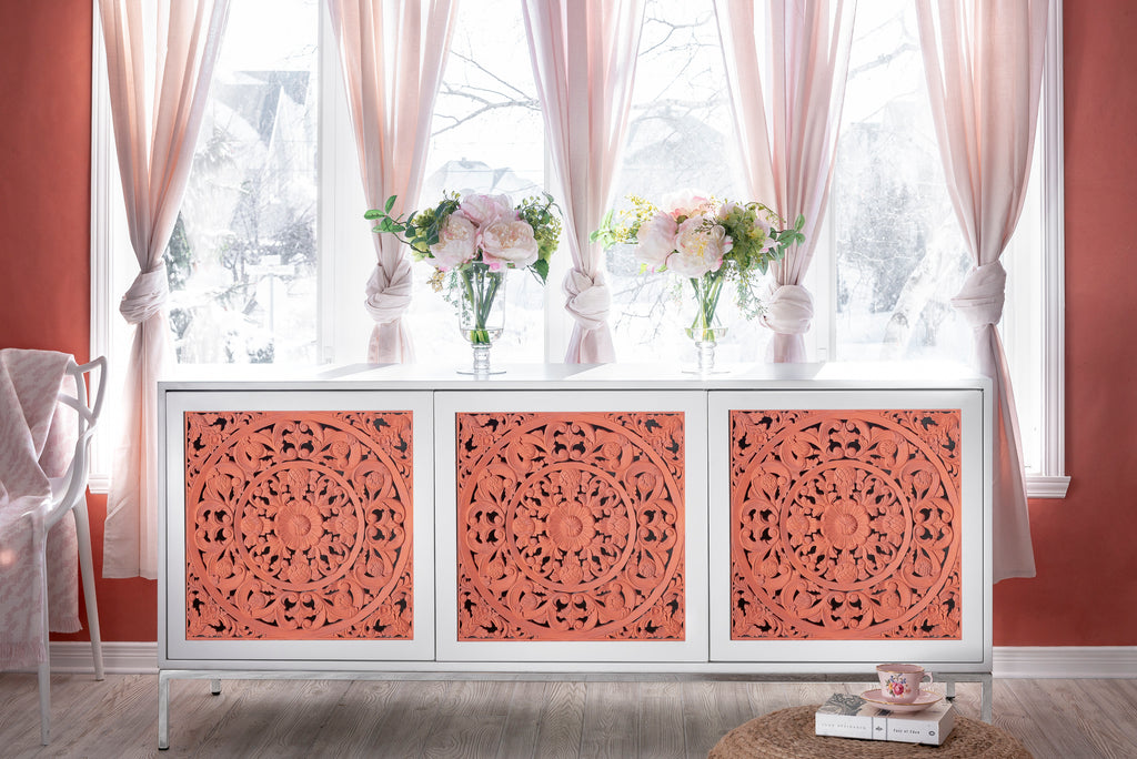 Creating an Accent Wall with Milk Paint by Fusion