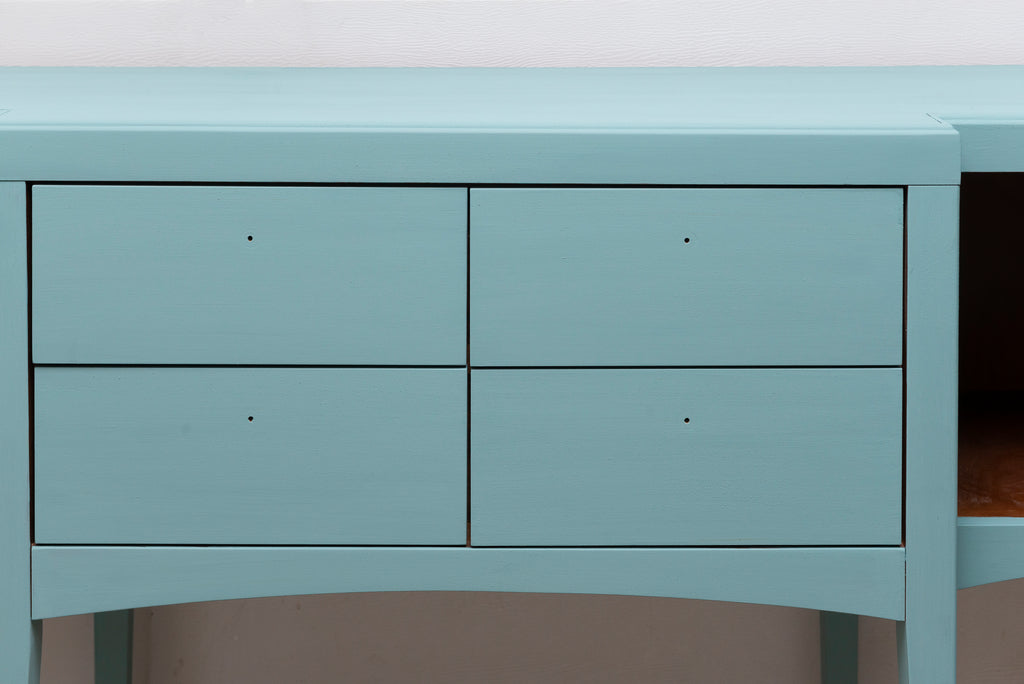 Sideboard Upcycled in Sea Glass