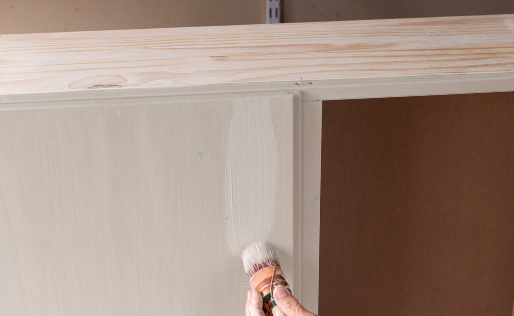 IKEA HACK – IVAR CABINET TO SMALL ARMOIRE WITH TOASTED COCONUT