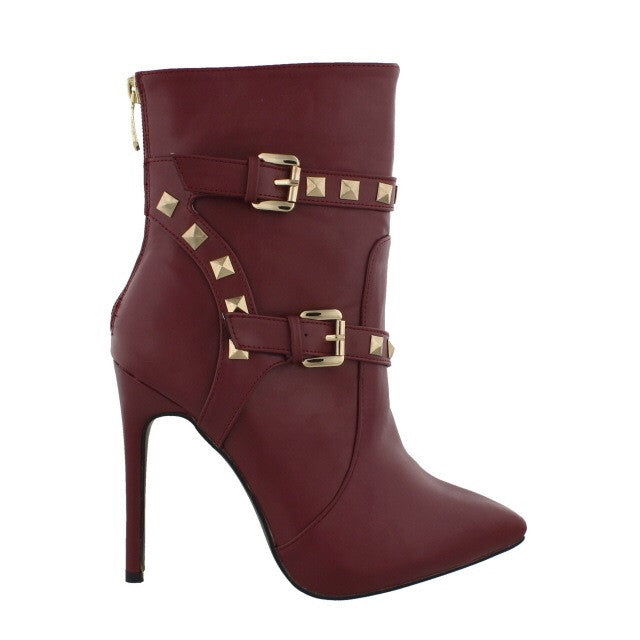 Studded Val Burgundy