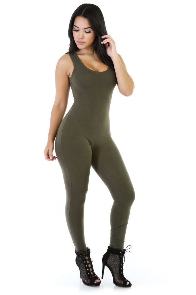 Body Suit Olive