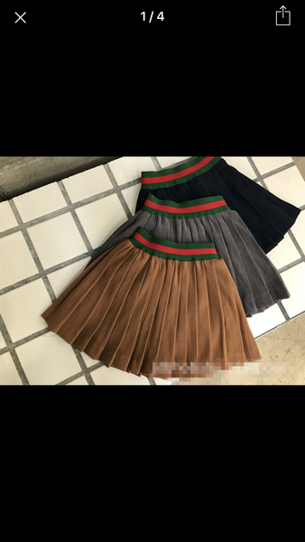 Kids Stripe Skirt