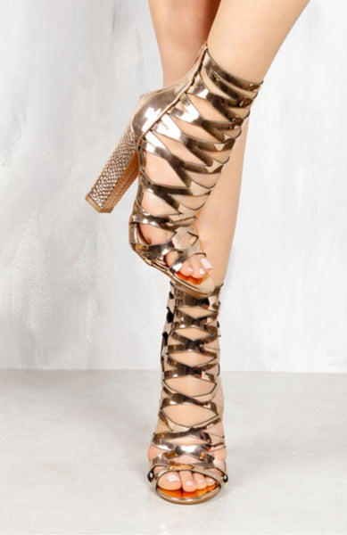Hollywood Rose Heel