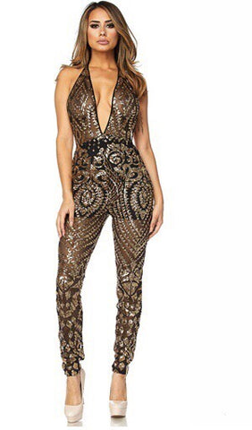 Beaded Sequin Bodysuit
