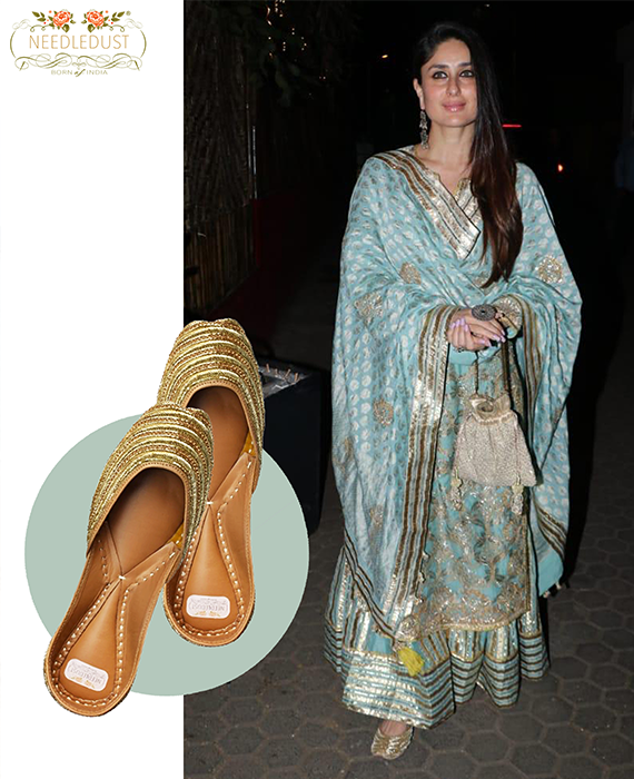 Kareena Kapoor IN NEEDLEDUST JUTTI