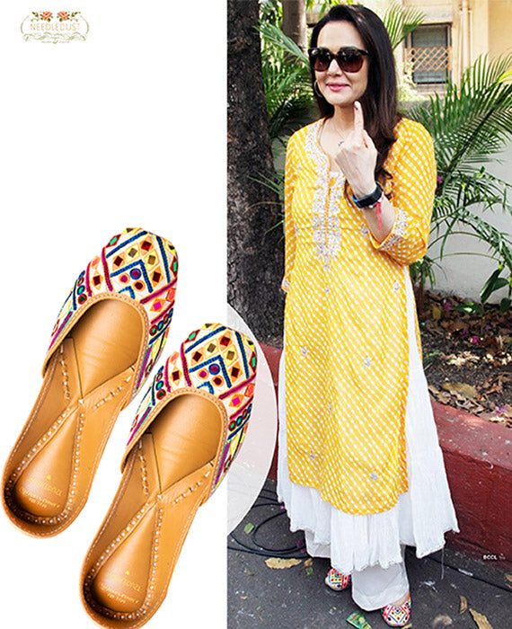 Preity Zinta IN NEEDLEDUST JUTTI