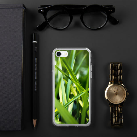 Grass layout iPhone case