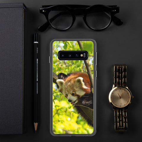 Red Panda Samsung Case