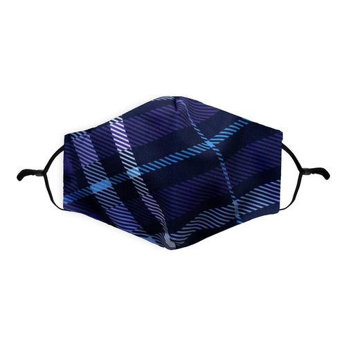 Blue Tartan Face Mask | Scottish