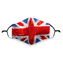 Load image into Gallery viewer, Face Mask Union Jack - Tartan Face Masks