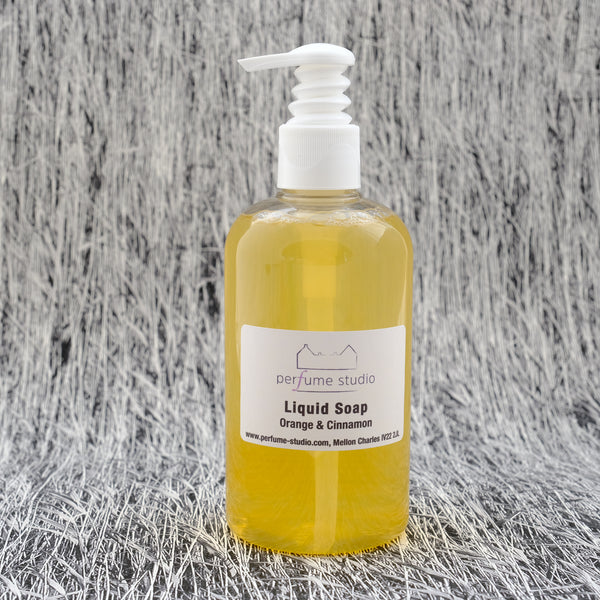Orange & Cinnamon Liquid Soap