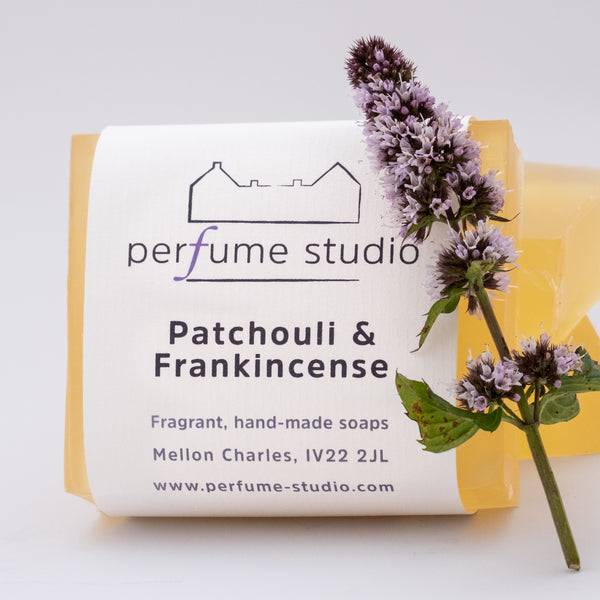 Patchouli & Frankincense Soap