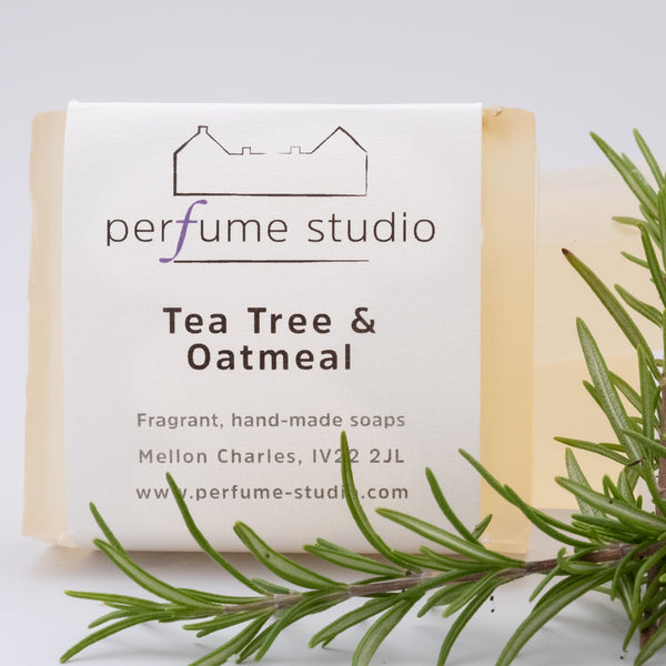 Tea Tree & Oatmeal Soap