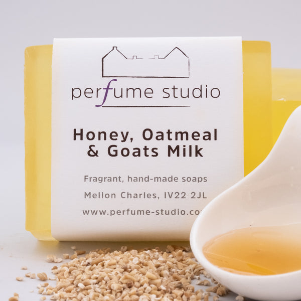 Honey Bee Soap - Honey Oatmeal & Goats Milk