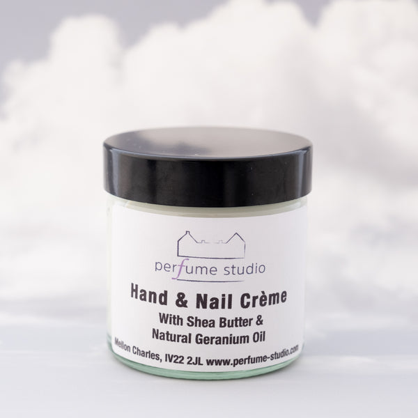 Hand & Nail Creme with Shea Butter & Natural Geranium Oil