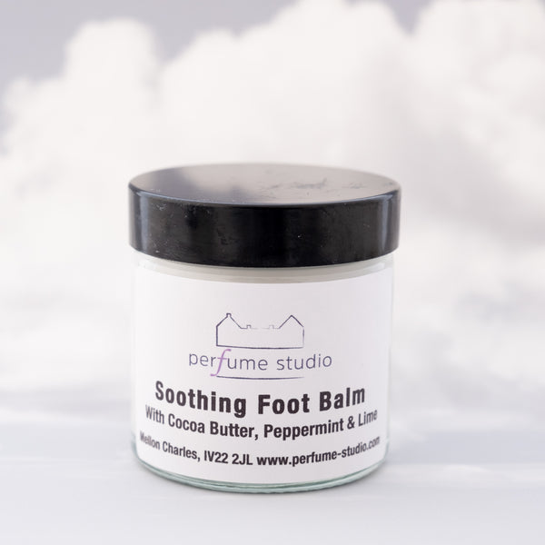 Soothing Foot Balm with Cocoa Butter, Peppermint & Lime