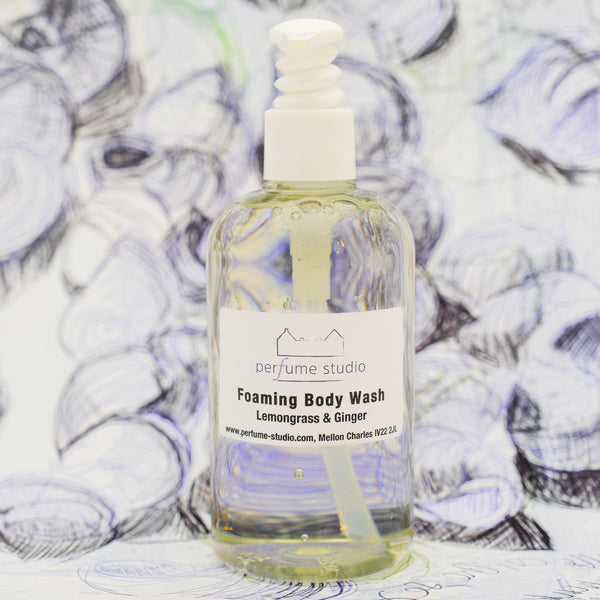 Lemongrass & Ginger Foaming Body Wash
