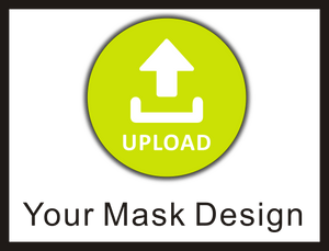 Step B: Upload Mask Design to sew into Fabric Mask