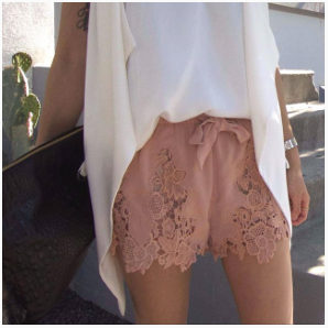 Show Me Your Lacy Shorts