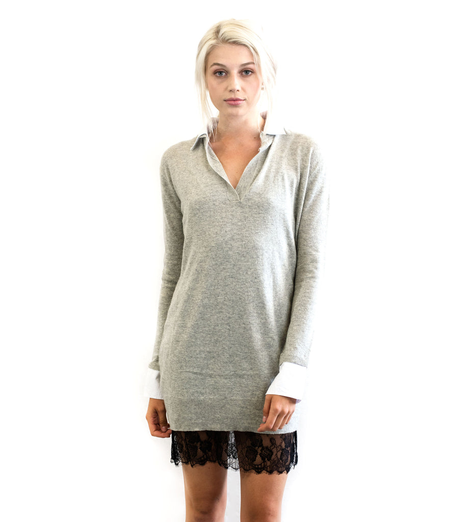 Detachable Sweater Dress