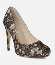 Load image into Gallery viewer, L K Bennett Nadja lace court shoes
