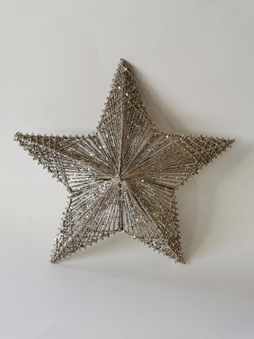 Cotton Stars w/ Metal Base - Large