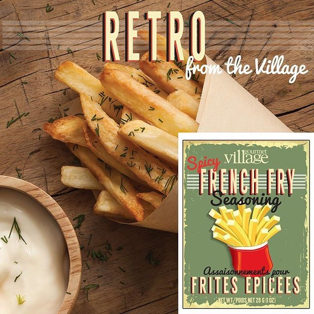 French Fry Recipe Box