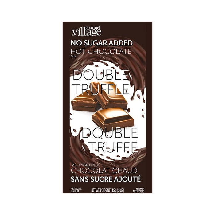 No Sugar added Double Truffle Hot Chocolate