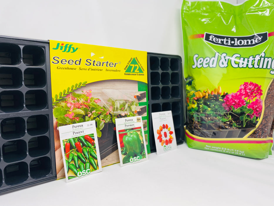 SEED STARTING KIT PEPPERS