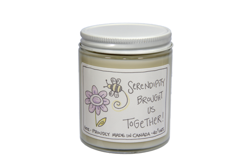Serendipity Brought Us Together Candle