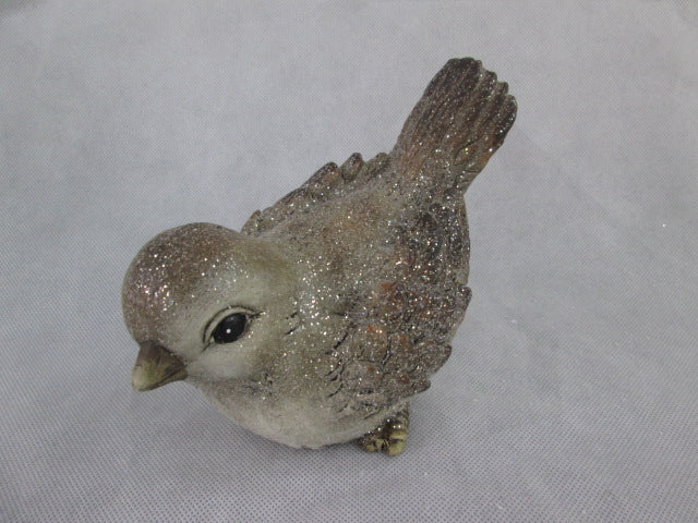 Ceramic Bird: Tilted Forward