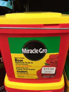 Miracle Grow ROSE FOOD 18-24-16