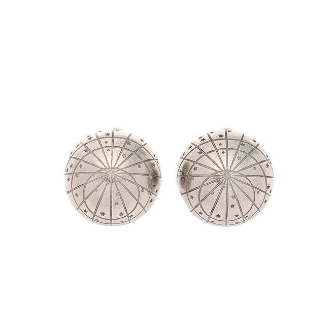 Hermes Silver Clip-on Earrings