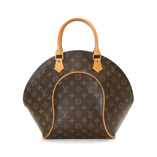 Louis Vuitton Brown Monogram Ellipse MM Satchel Bag
