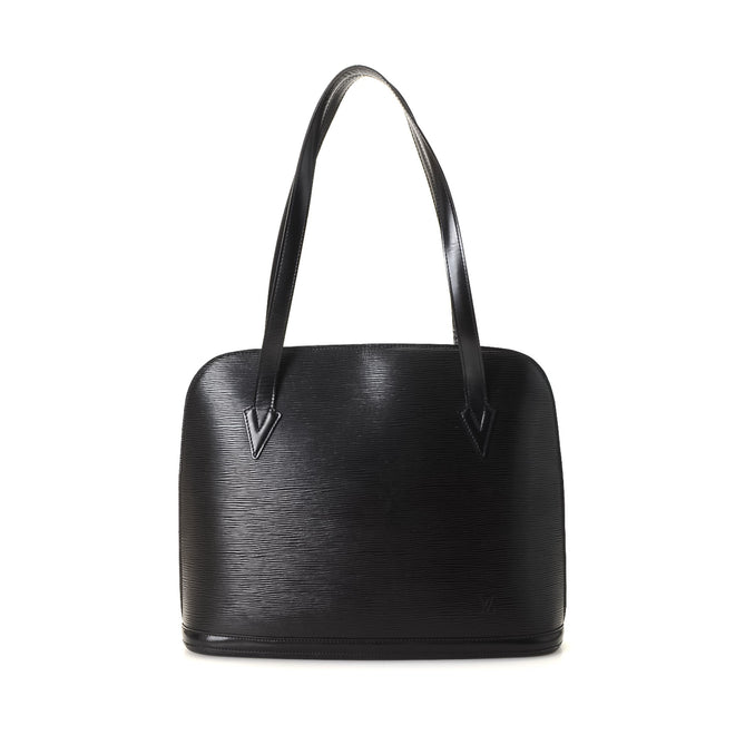 Louis Vuitton Black Epi Leather Lussac Shoulder Bag