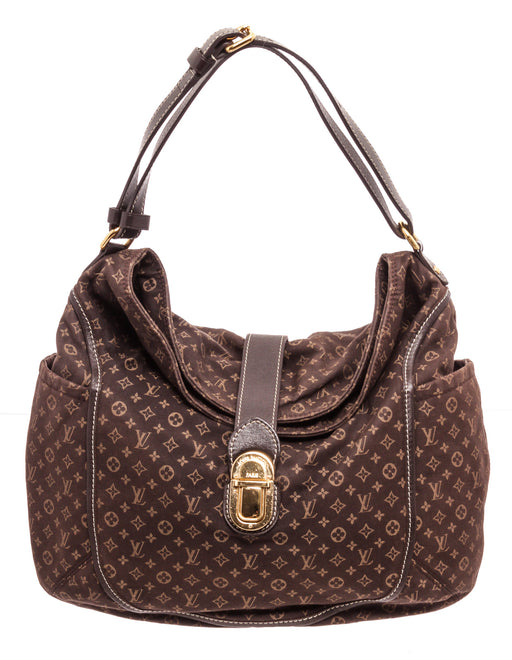 Louis Vuitton Brown Monogram Idylle Mini Lin Emcre Romance Shoulder Bag