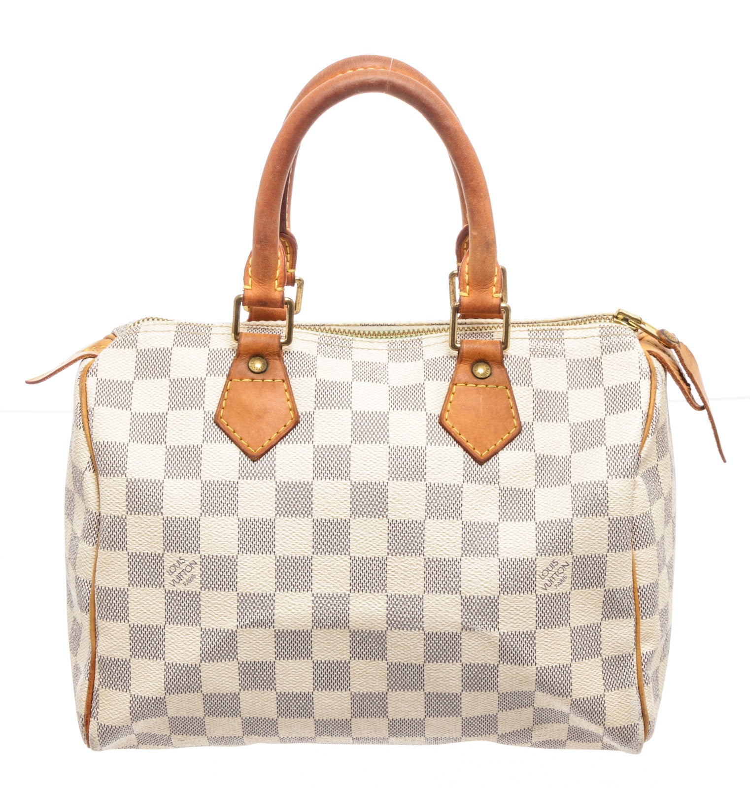 Louis Vuitton Brown Damier Azur Speedy 25cm Handbags