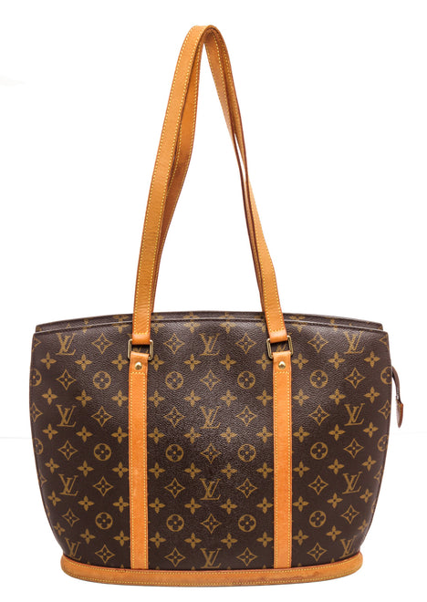 Louis Vuitton Brown Monogram Epi leather Babylone Tote Bag